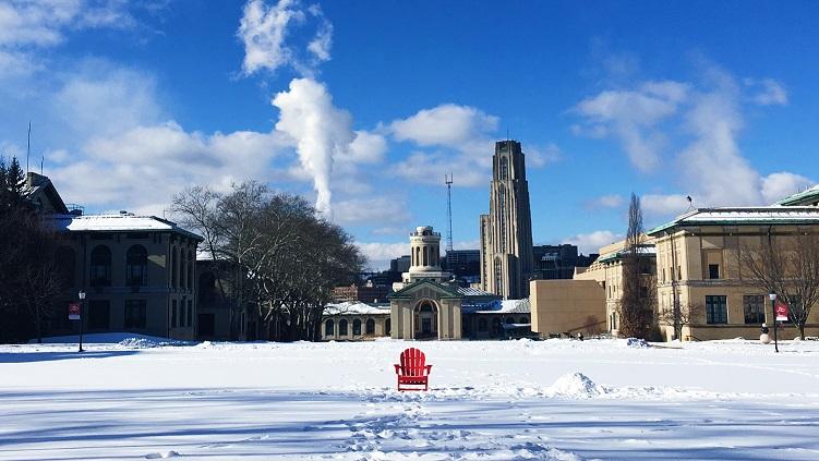 冬天的校园1