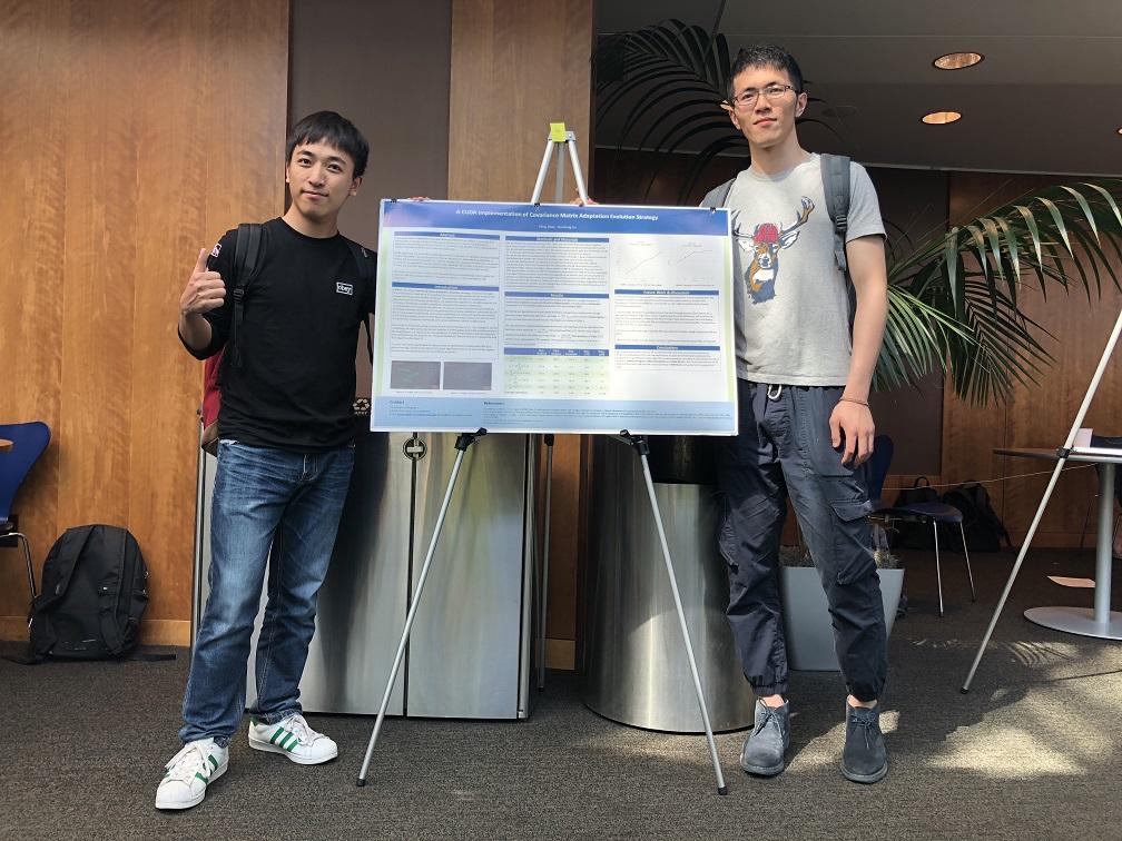 刘国栋与乔怿凌同学在并行计算课的大作业海报1