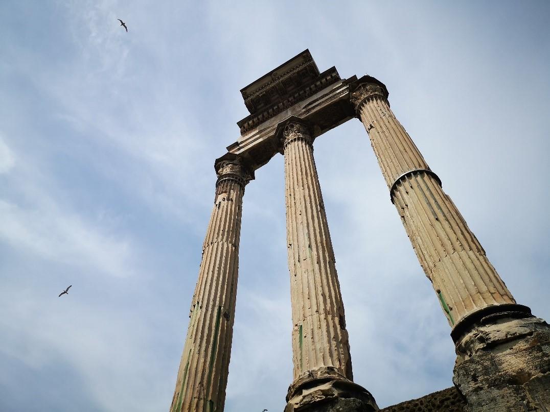 意大利罗马古城一角