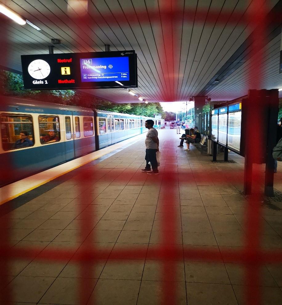 慕尼黑地铁站