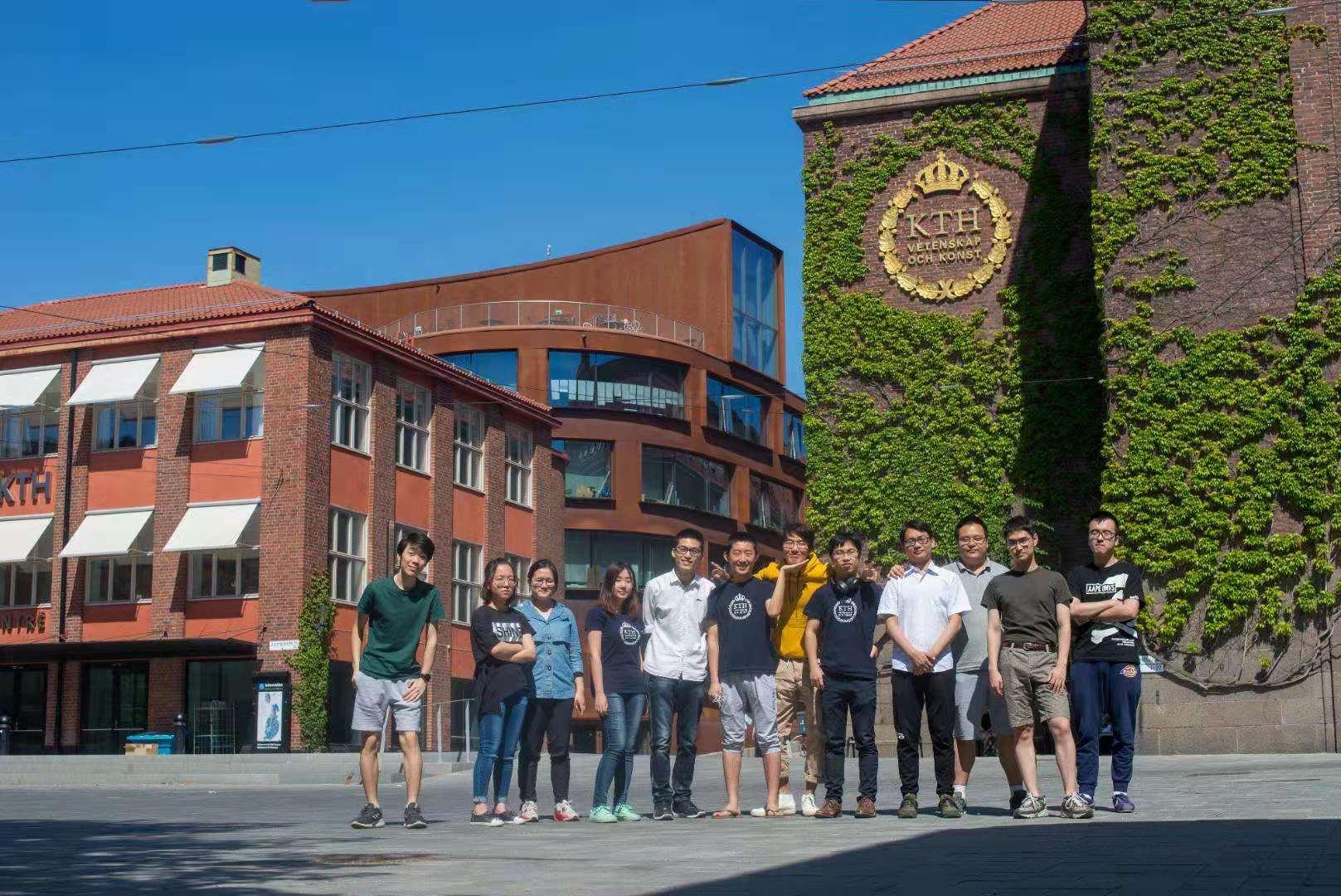 2015级国科大学子在KTH