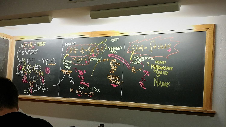 IMG 教室 上一节课教授的板书作品